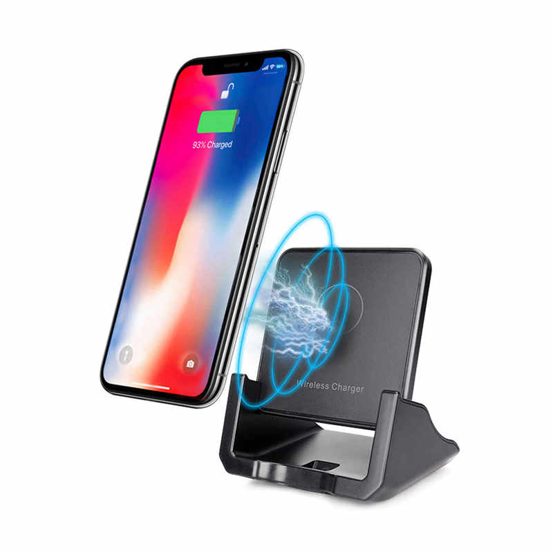 KQI010 Wireless Charger, 10W Qi-Certified Wireless Charging Pad, Compatible iPhone Xs Max/XR/XS/X/8/8Plus