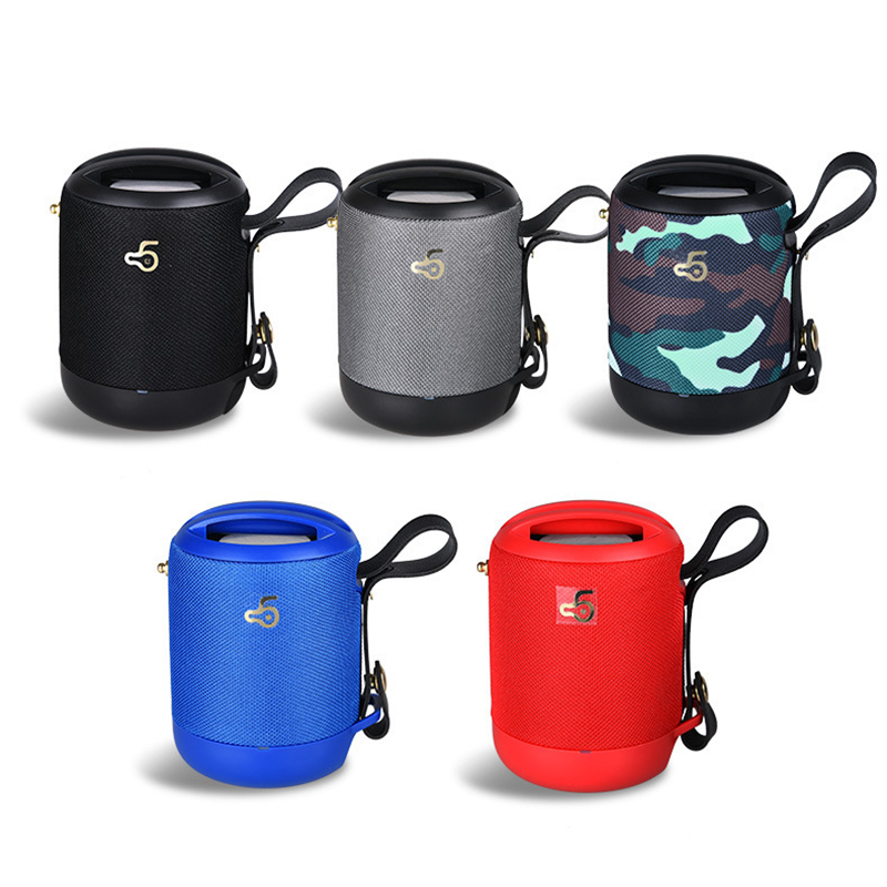 Hi Fi Sound Super Bass Wireless IPX5 Waterproof Outdoor Motorcycle Bike Power Bank Stereo Portable Bluetooth Speaker